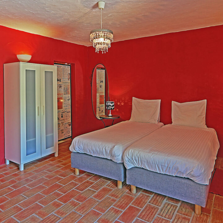 Iedere kamer of appartement heeft zijn eigen verrassende design.