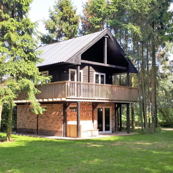 Vakantiehuis in het groen
