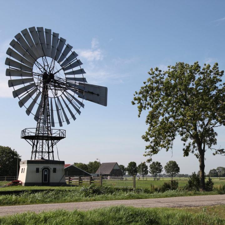 Windmolen in de omgeving van Ievers
