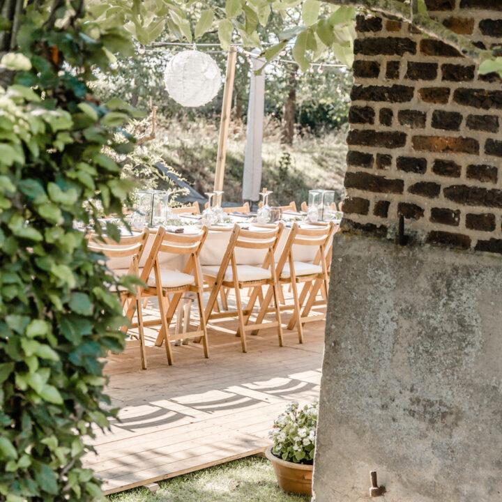 Bruiloft bij La Grange