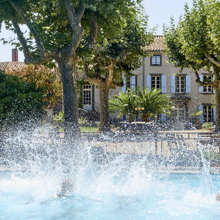 Tijdens de vakanties is het domaine een paradijs voor kinderen.