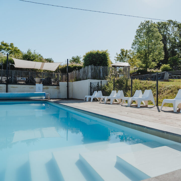 Zwembad bij een kindvriendelijk vakantieadres in Frankrijk