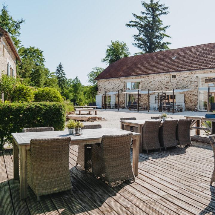 Vakantiehuizen in Frankrijk met terrasjes voor de deur