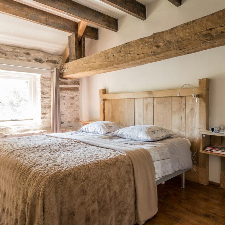Slaapkamer bij La Bastide