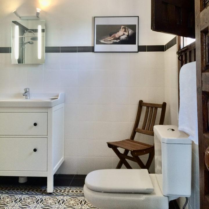 Badkamer van een hotel in Andalusië