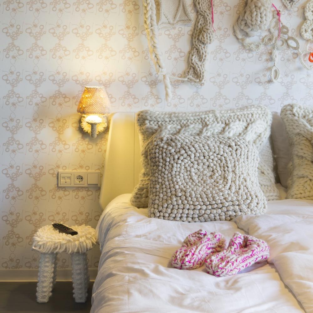 Hotelkamer van het designhotel Modez in Arnhem