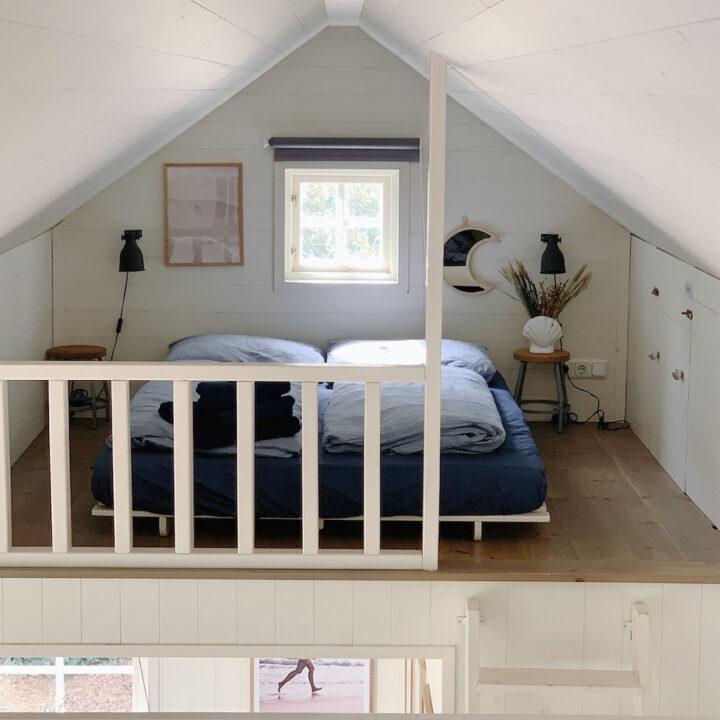 Slaapvide met plek voor twee personen