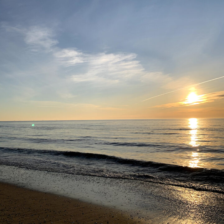 Zonsondergang in Noordwijk aan Zee