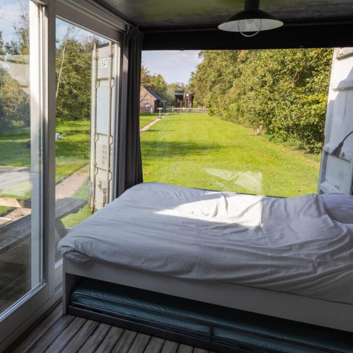 Bijzonder overnachten in het buitenhotel in Vlaardingen