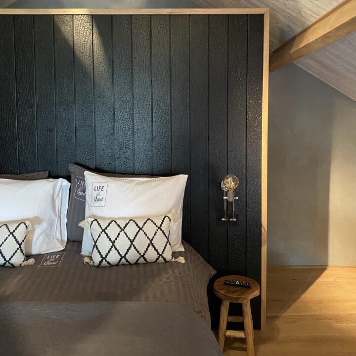 Slaapkamer in de luxe loft