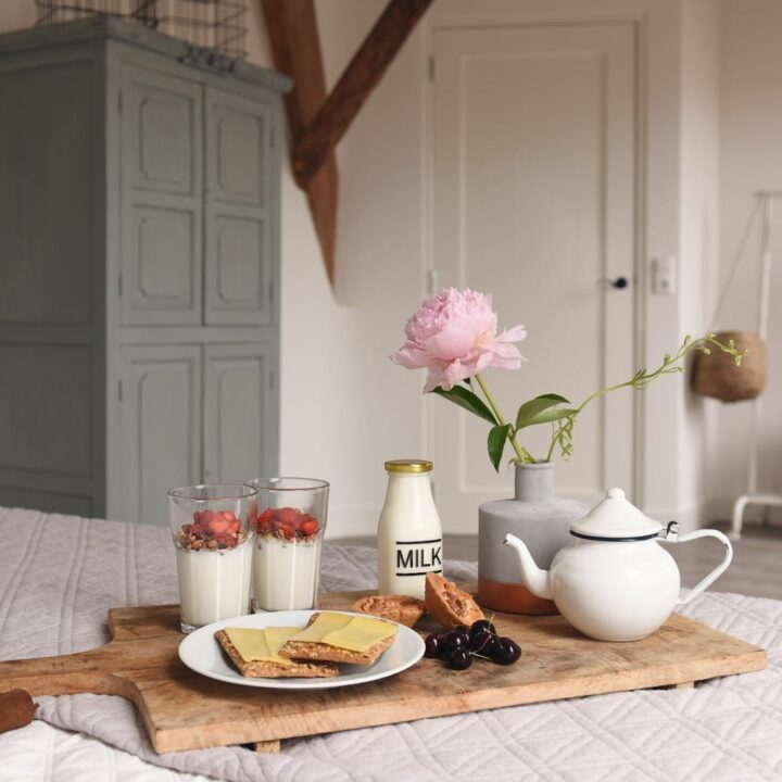 Ontbijt op bed in Callantsoog