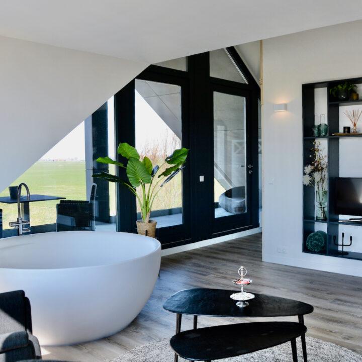 Romantisch overnachten in een luxe suite