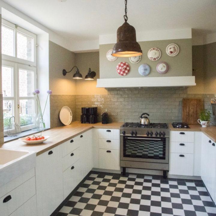 De keuken in de kasteelboerderij