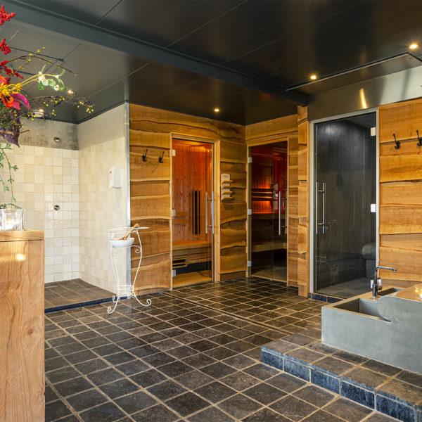 Sauna ruimte van het Betuwsch Badhuys