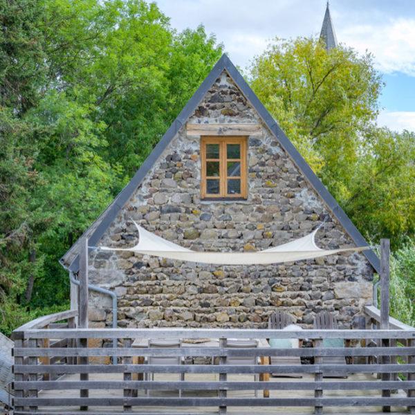 Authentiek vakantiehuis in een dorp in de Auvergne