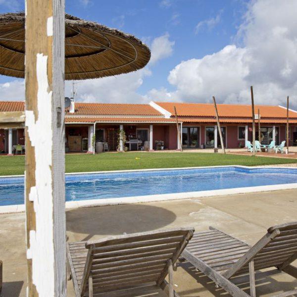 Zwembad van een vakantieadres in de Alentejo