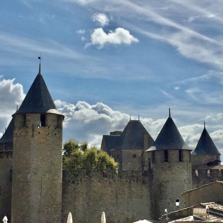 Een must-see, het imposante Carcassonne.