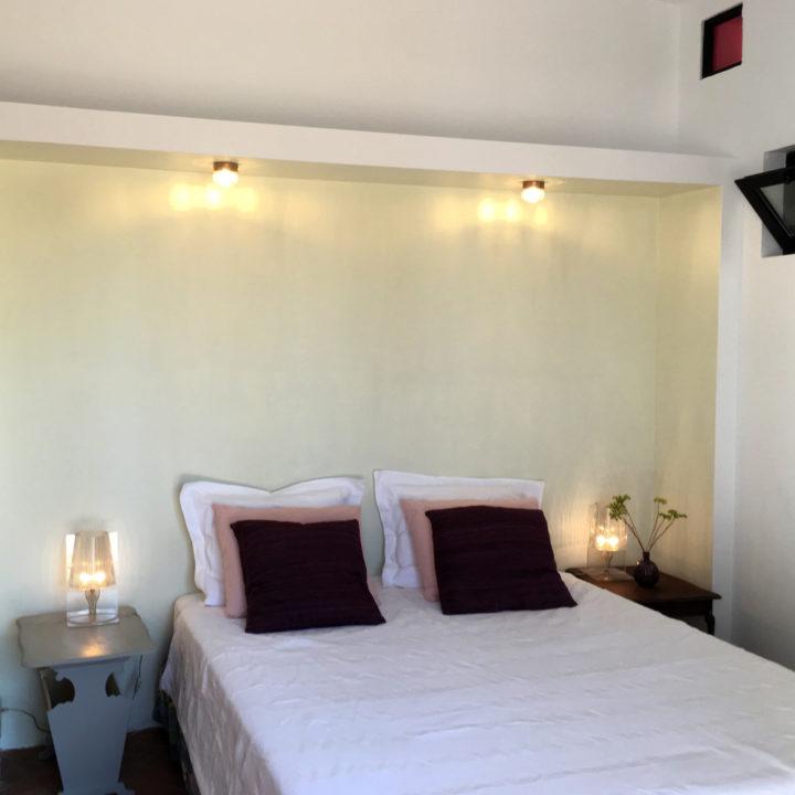 Slaapkamer in het vakantiehuis in Andalusië