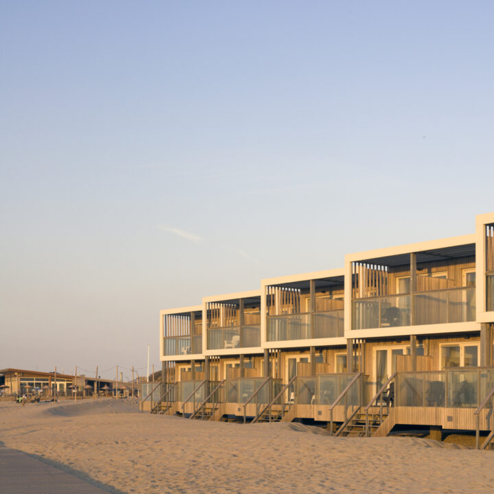 Luxe beach villa's op het strand
