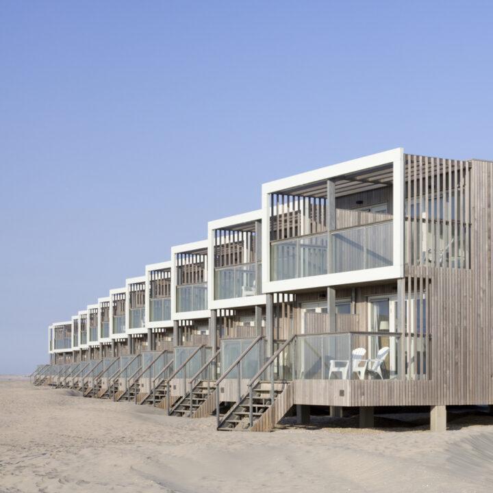 Vakantiehuizen op het strand