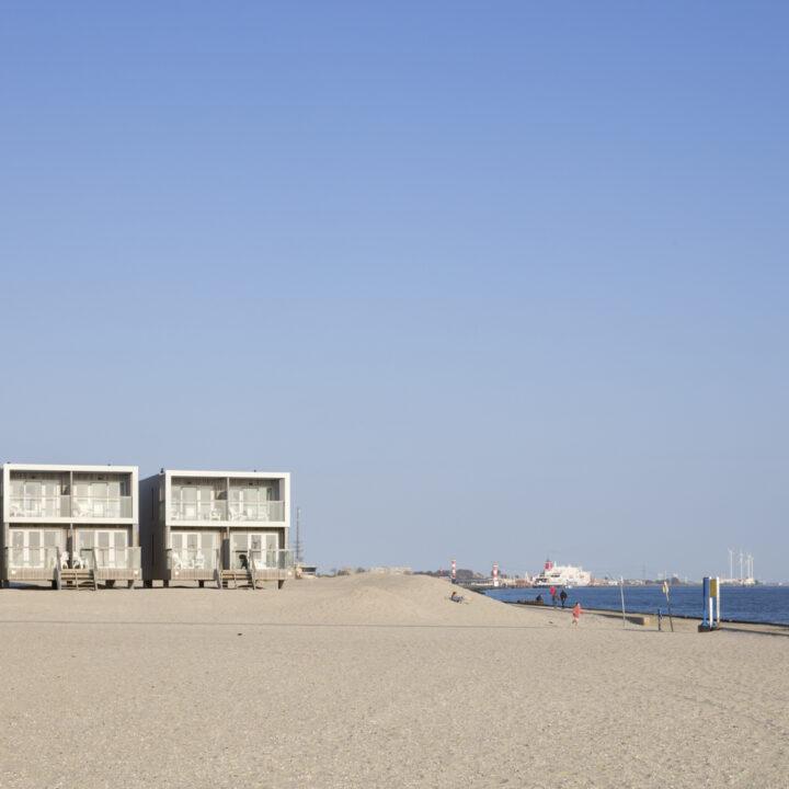 Bijzondere strandhuisjes aan zee