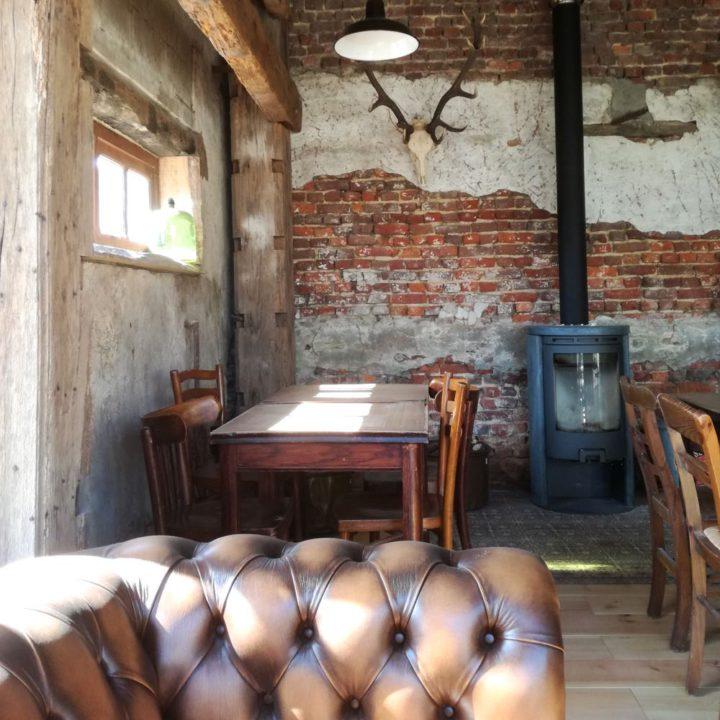Privé bar bij een vakantiehuis in België
