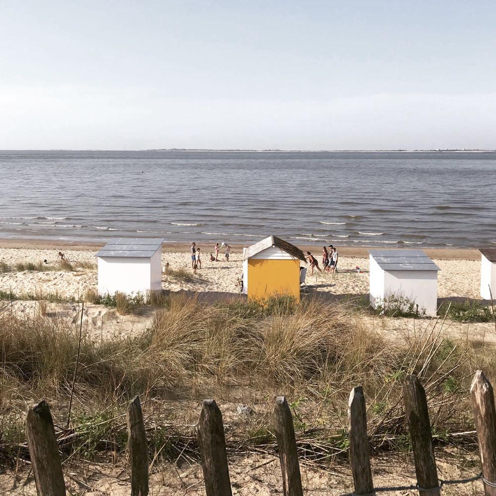 Strandhuisjes in Zeeland