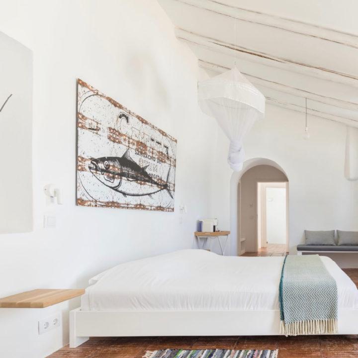 Slaapkamer in alle tinten wit