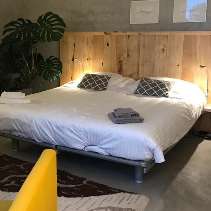 Slaapkamer in de bed and breakfast