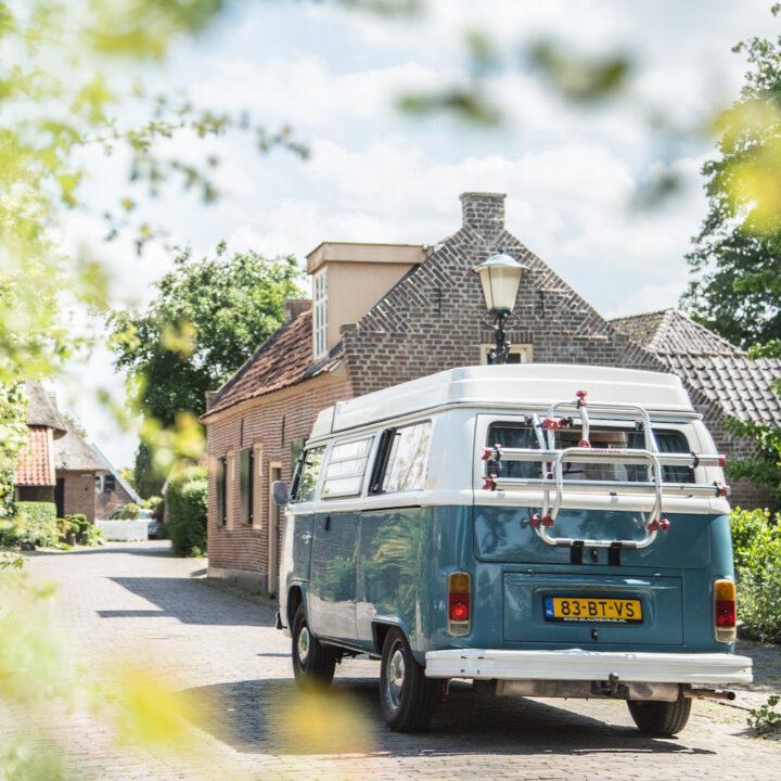Camperbusje van Volkswagen