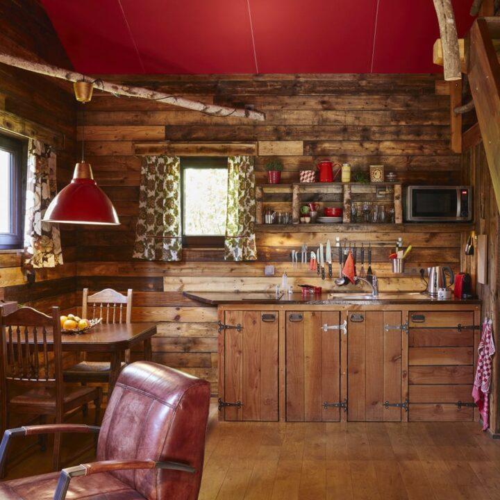 Keuken in de cabin