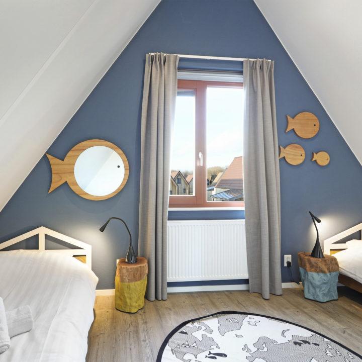 Kinderkamer in een vakantiehuis bij Landal