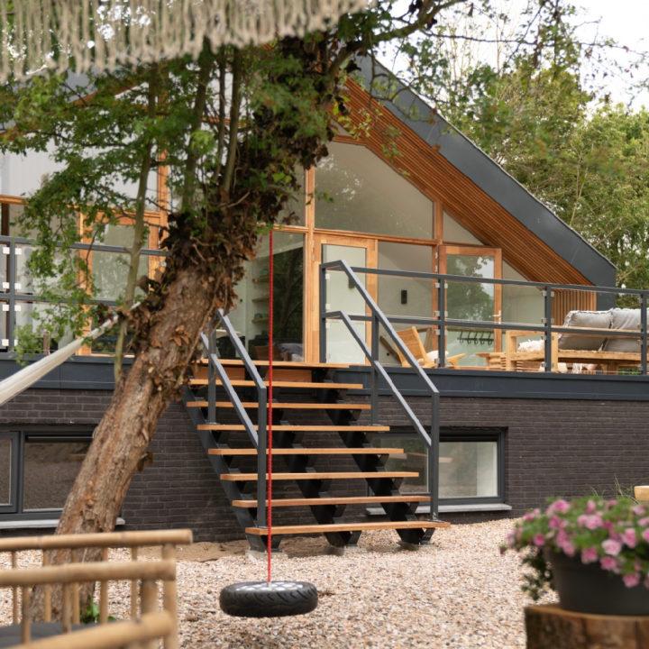 Modern vakantiehuis in Egmond