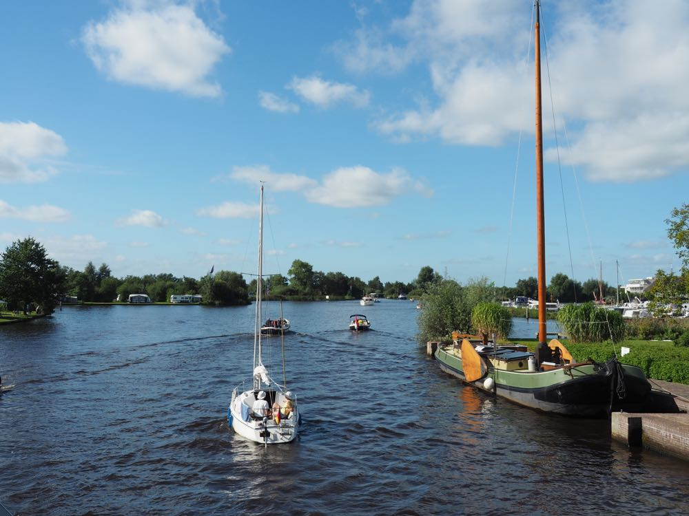 Een boottocht op de Friese Meren
