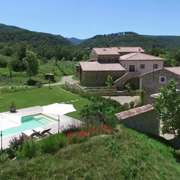 Vakantieboerderij met zwembad in de Provence