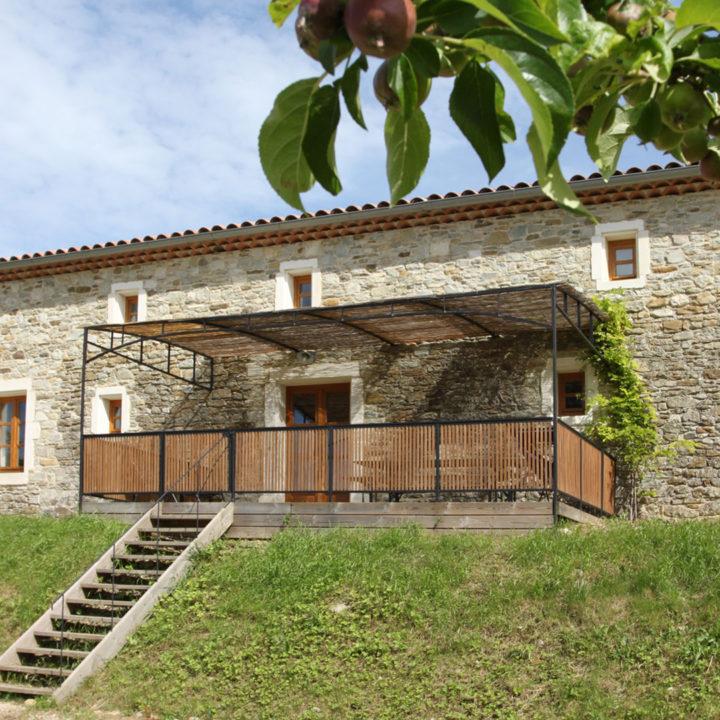 Vakantieappartement in een boerderij in de Provence