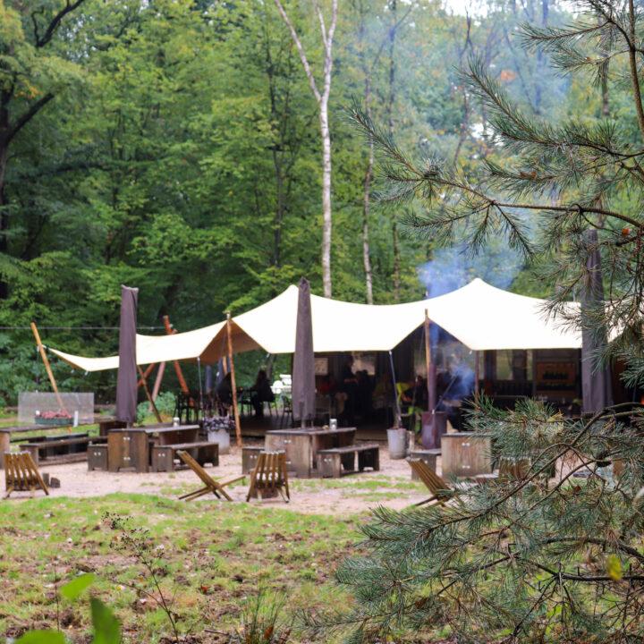 Restaurant in het bos op de Veluwe, WOODZ