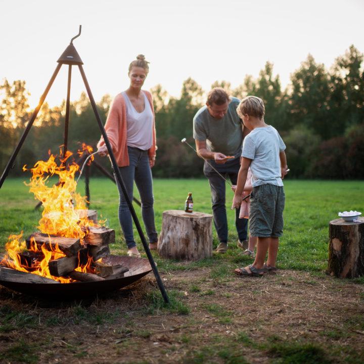 Met je gezin genieten van een paar dagen in een slow cabin