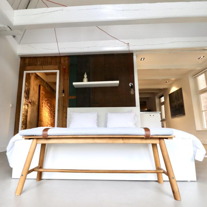 Slaapkamer in een B&B in Dokkum