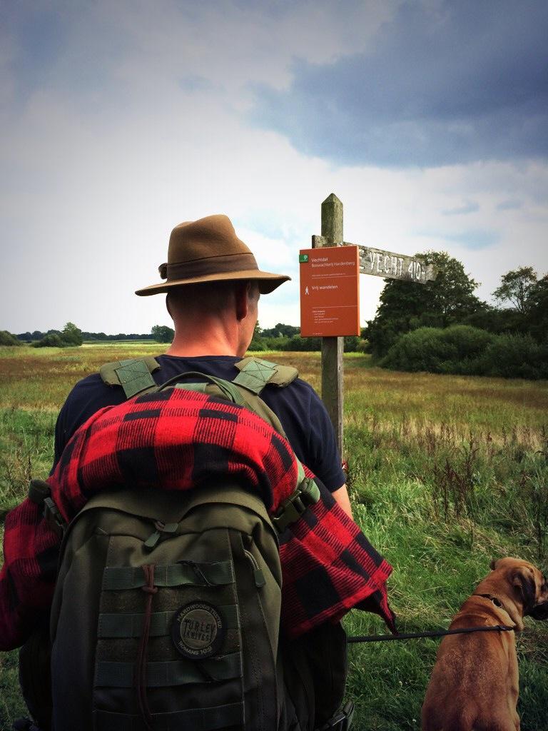 Op stap met Martin, op avontuur en leren overleven in het Vechtdal Overijssel
