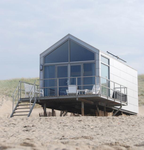 Een vakantiehuis op het strand