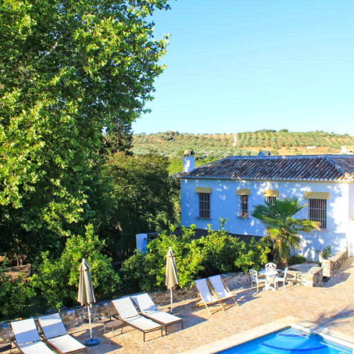 Hotel el Molino Santisteban ligt bij Guaro in het Zuid-Spaanse Andalusië. Kleinschalig en kindvriendelijk hotel.