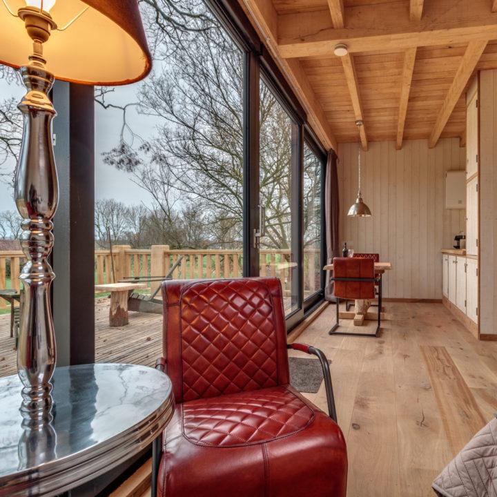 Superdeluxe boomhut met privé sauna