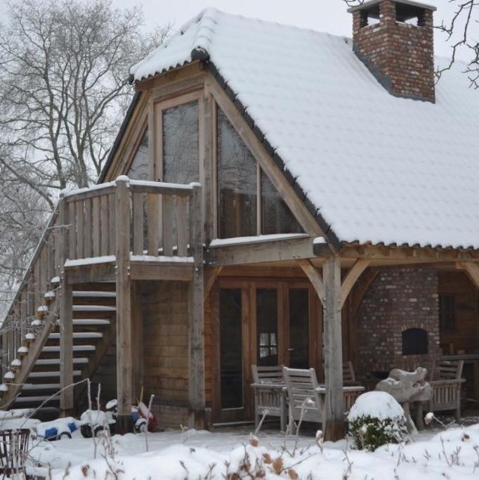 B&B in de sneeuw