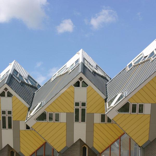 Een bijzonder bouwwerk in Rotterdam.