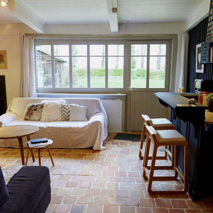 Een fijn ruim huis, met meerdere slaapkamers.