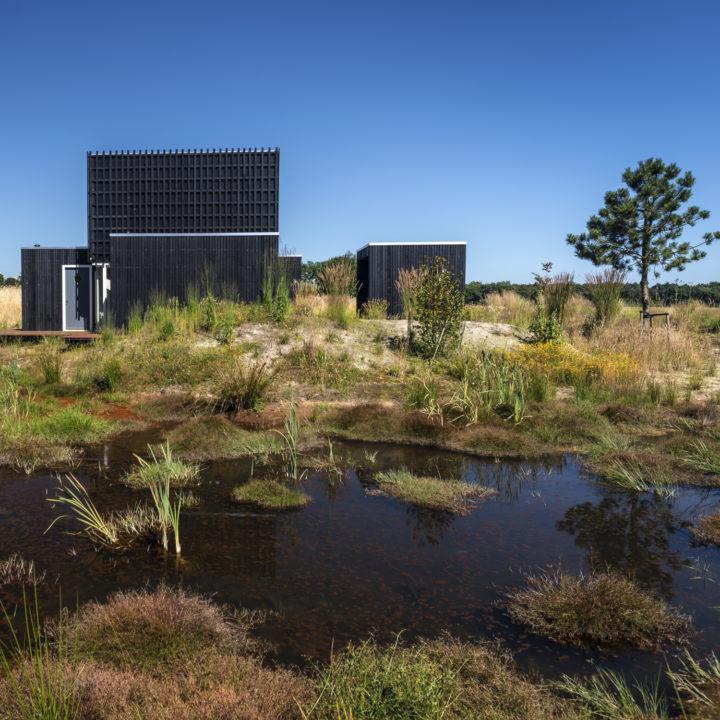 Huisje in de natuur in Drenthe