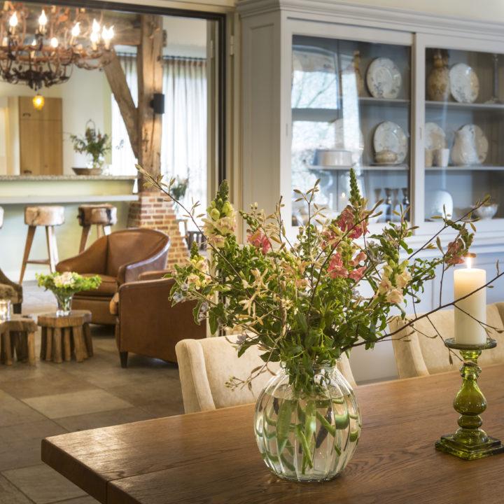 Landelijk en warm ingericht vakantiehuis in Brabant