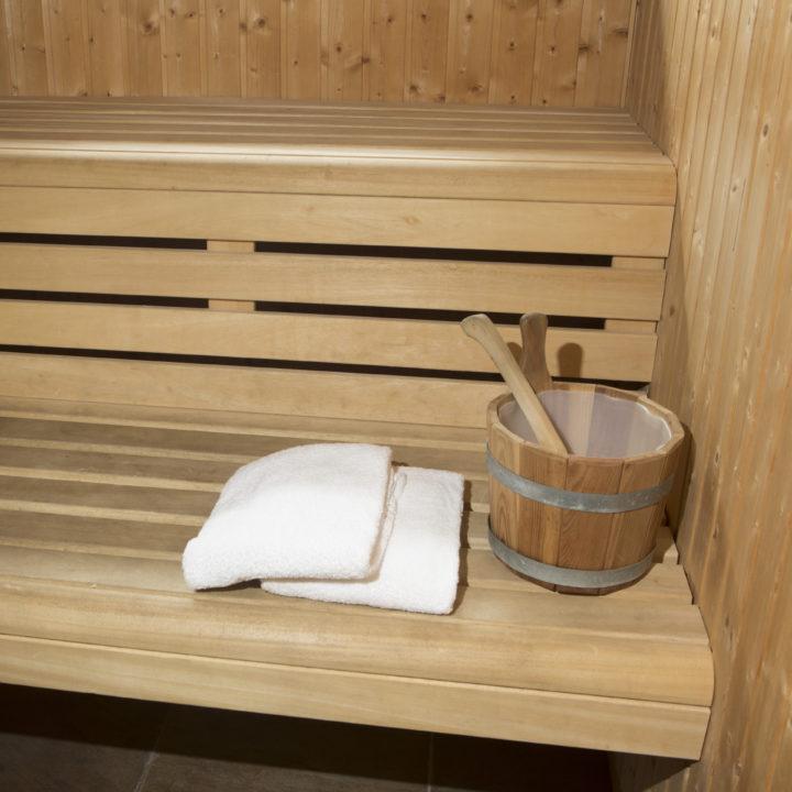 Sauna in het vakantiehuis in Brabant