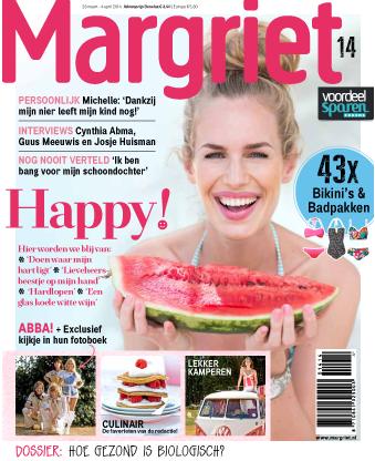 cover van tijdschrift de Margriet